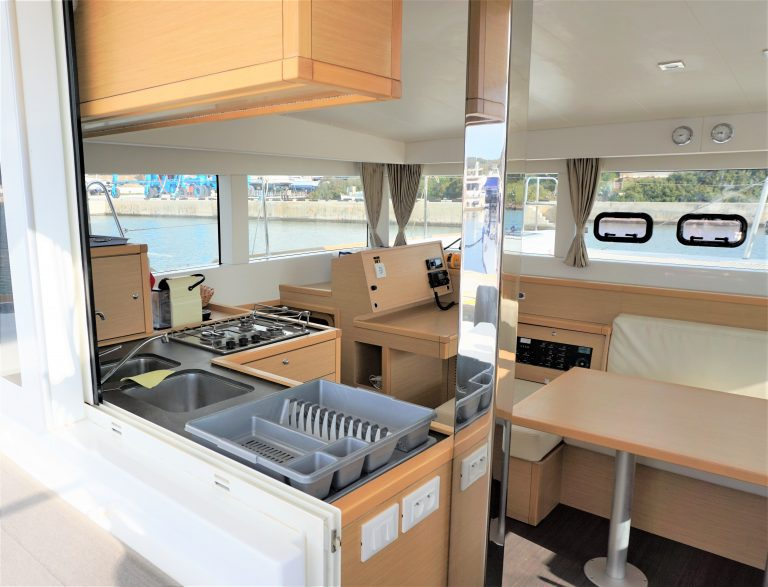 39 Galley Outside View